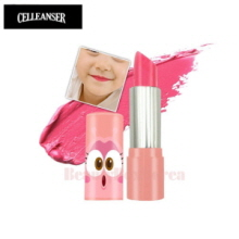 CELLEANSER Larva Pink Pure Lipstick 3.3g (Child Lipstick) [LARVA Limited Edition]